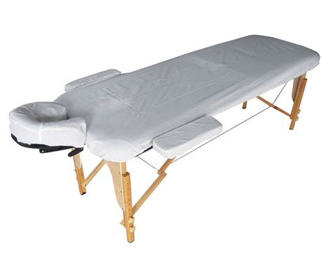 portable massage couch beige portable massage table bed beauty therapy couch 2