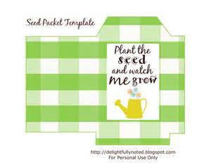 seed packet template free printables seed packet template s gift