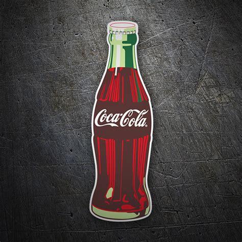Aufkleber Coca Cola by Sticker Coca Cola Bottle Muraldecal