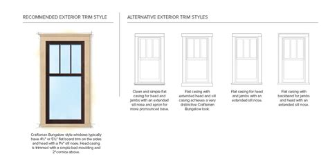 craftsman style trim details home styles exterior exterior trim and window trims on