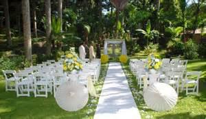 Simple Outdoor Wedding by Simple And Unique Outdoor Wedding Ideas Club