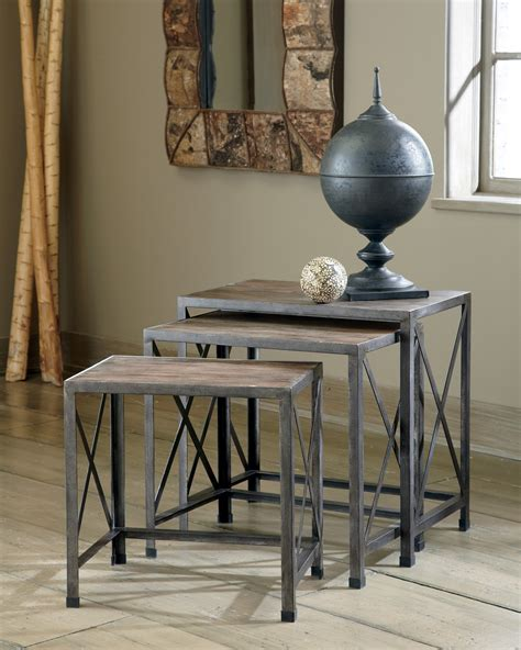 vennilux chairside end table vennilux nesting end tables from t500 716