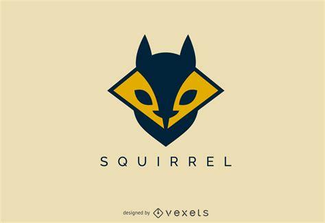 logo design templates geometric squirrel logo template free vector