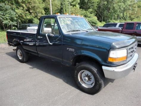 1995 F250 Specs by 1995 Ford F250 Xl Regular Cab 4x4 Data Info And Specs