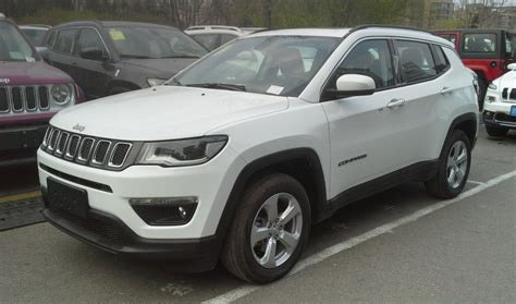 Jeep Cumpus Jeep Compass Technical Specifications And Fuel Economy