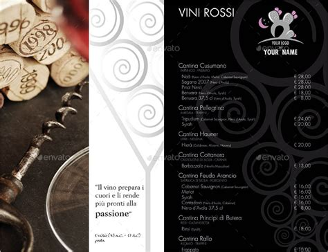Indesign Templates Flyer Card by 12 Wine Brochure Templates Free Word Psd Designs