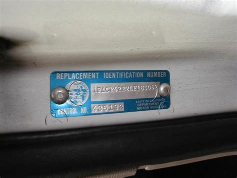 Yamaha Vin Sticker Replacement by Wrong Vin Ford Truck Enthusiasts Forums
