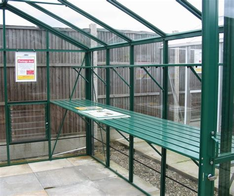 greenhouse benches uk gardenaction co uk select greenhouse staging