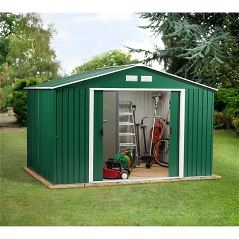 Metal Shed 10 X 10 by 10 X 10 Budget Metal Shed