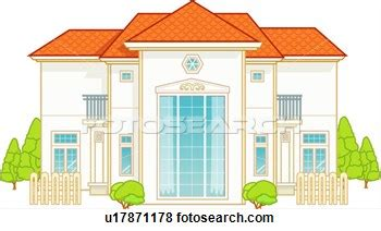 House With Garage Villa 20clipart Clipart Panda Free Clipart Images