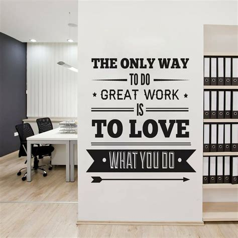 inspirational quotes decor for the home 25 best ideas about office wall art on pinterest