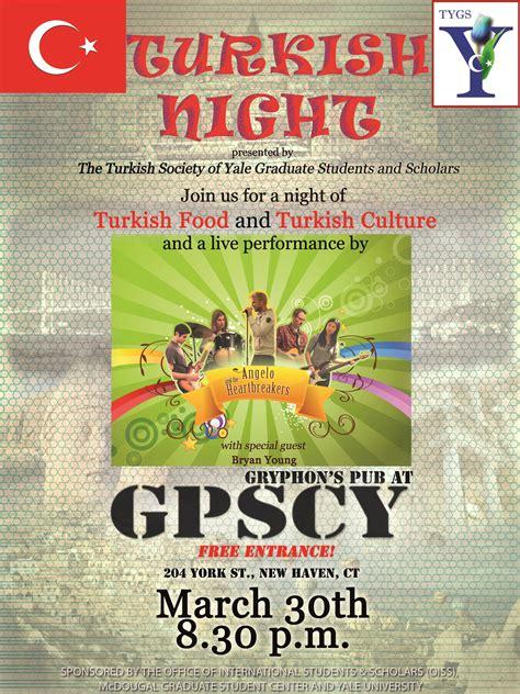 calendar turkish society yale graduate