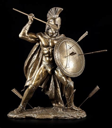 leonidas i figur gro 223 statue k 246 nig von sparta krieger