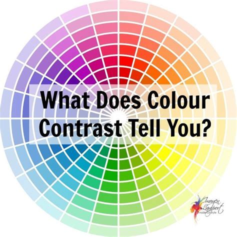 contrast color understanding colour contrast and putting together