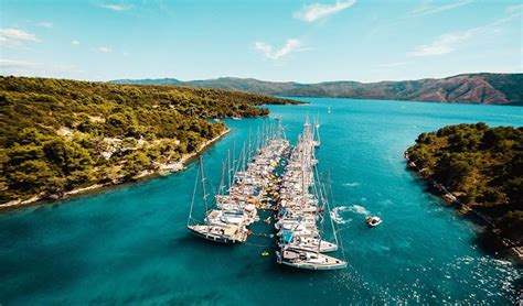 yacht week 2018 the yacht week croatia original 2018 week 37 hvar