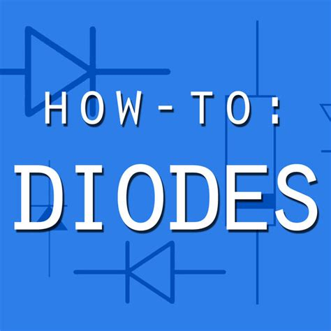 what can diodes be used for how to diodes 6 steps with pictures