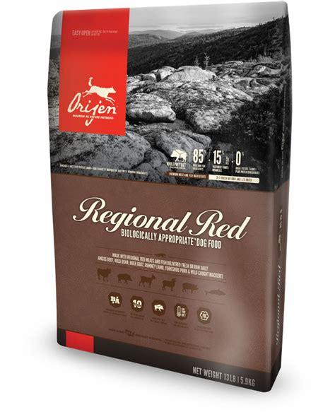 dog food coupons orijen orijen regional red dog food more than grain free