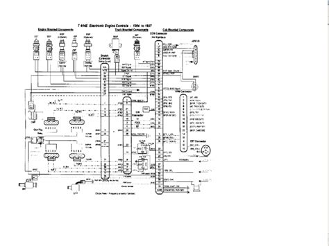 1997 international 4700 wiring diagram 1997