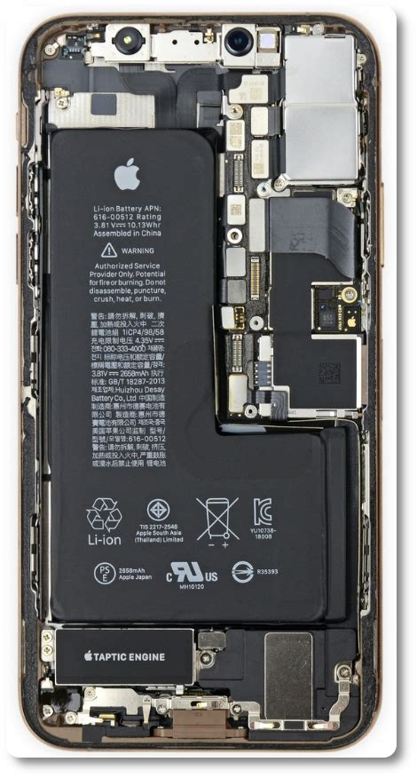 iphone xs max teardown reveals why it costs 599 to replace a cracked back phonearena