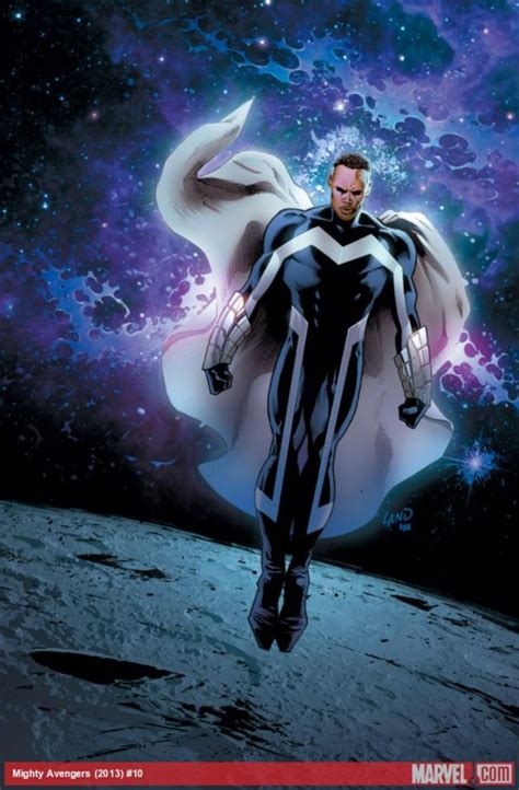 Marvel Film With Blue Man | blue marvel character comic vine