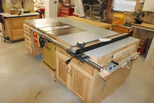 used cabinet table saw table saw cabinets by denniemac lumberjocks