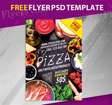 26 Free Flyers Jpg Psd Ai Illustrator Download Restaurant Flyers Templates Free