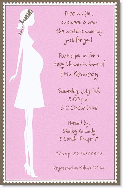 baby shower invitation wording for baby shower invitation wording