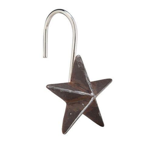 star curtain hooks star shower curtain hooks from rods com bathroom
