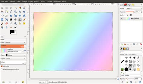 create nice lines effects   blend tool