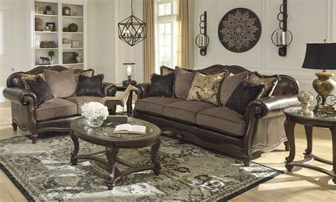 winnsboro durablend vintage living room set living room