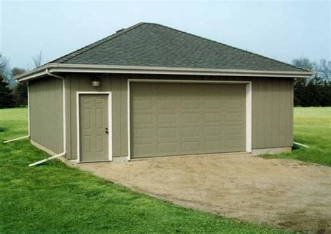 hip roof garage plans 2 car hip roof garage building plans only