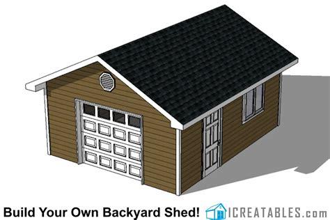 garage shed plans build  shed   garage door