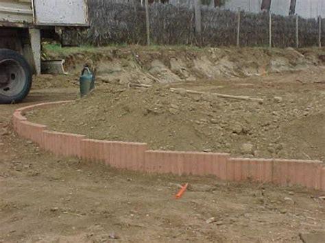 bordures de jardin en ciment bordures cylindre b 233 ton