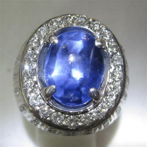 Liontin Batu Permata Safir Sapphire 01 batu blue sapphire corundum gemstone