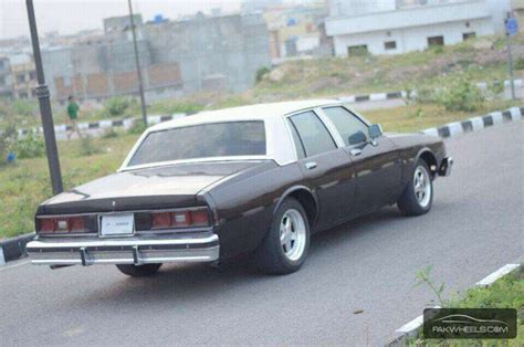 chevrolet caprice 1983 for sale in islamabad pakwheels