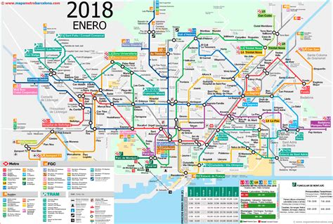 barcelona zone 1 map metro map of barcelona 2018 the best