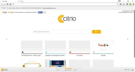 citro browser citrio web browser for windows chrome
