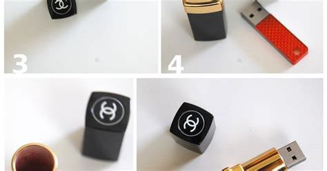tutorial flash drive sexy and luxurious make your own chanel lipstick flash
