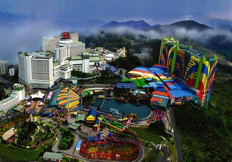 theme park genting genting highlands malaysia