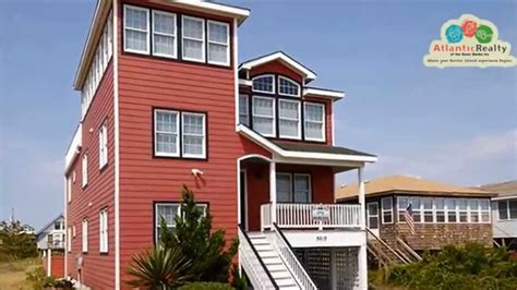 368 The Painted Lady Beach Rentals Outer Banks Vacation Hawk House Rentals