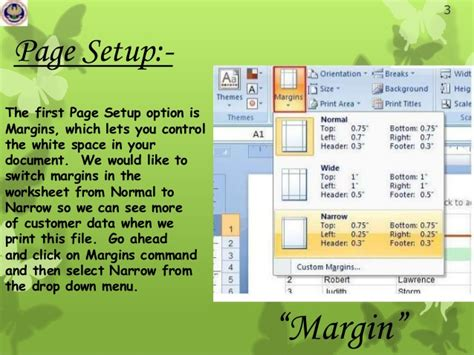 fungsi layout tab fungsi menu tab page layout pada microsoft excel 2007
