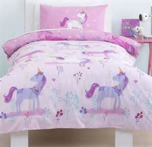 Single Duvet Cover Ikea Magical Unicorn Girls Single Bedding Set From Just Kidding