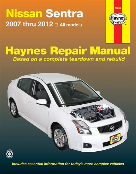 service manual auto repair manual online 2012 nissan xterra regenerative braking service nissan sentra 07 12 haynes repair manual haynes manuals
