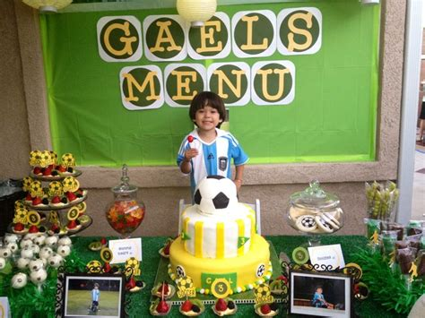 soccer themed birthday decorations 79 best sports theme images on