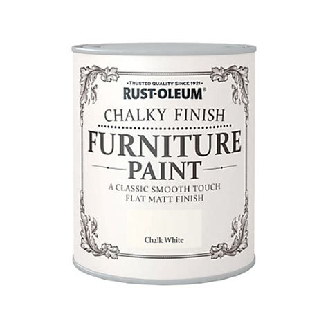 chalk paint colors homebase rust oleum chalk white chalky furniture paint 750ml