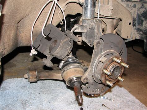 subaru legacy cv joints axle assembly replacement