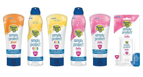 banana boat sunscreen jobs banana boat launches sunscreen line with fewer ingredients