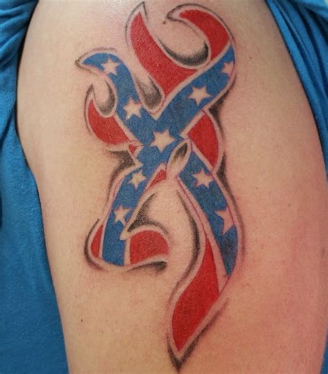 redneck tattoos 37 awesome confederate flag tattoos
