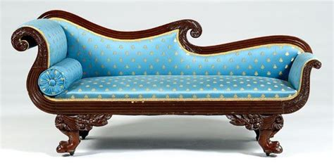 philadelphia upholstery 91 philadelphia classical recamier lot 91