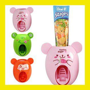 Toothpaste Dispenser Kd 1704111 wholesale novelty creative animal pattern automatic lazy toothpaste dispenser squeeze
